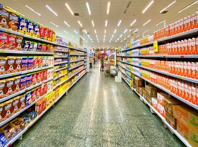 Government partner with supermarkets to provide food for those at risk